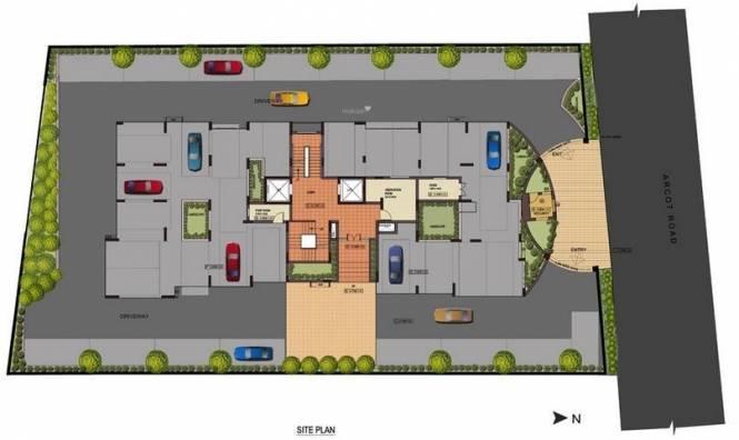 Gatala Kothandapani Legacy Site Plan