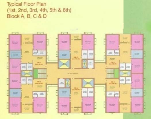Srusti Mansion Cluster Plan