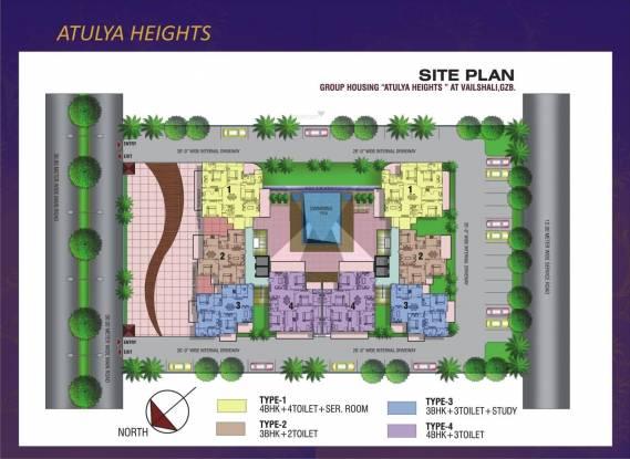 Deepsons Atulya Heights Layout Plan