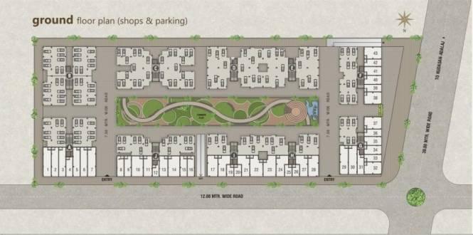 PSY Pramukh Paramount Cluster Plan