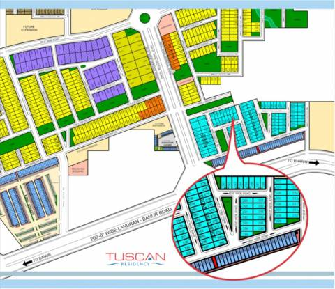 TDI Tuscan Residency Site Plan