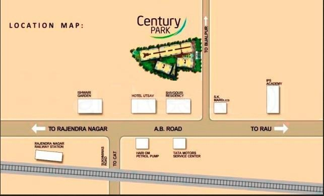 Sai Century Park Location Plan