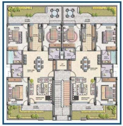 Shubham Gold Homes Cluster Plan