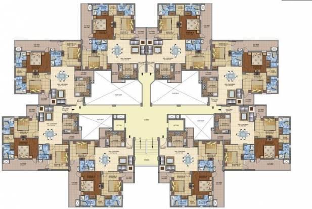 Motia Oasis Cluster Plan