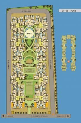 MGR Sahaj Residency Layout Plan