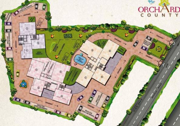 Oswal Orchard County Site Plan
