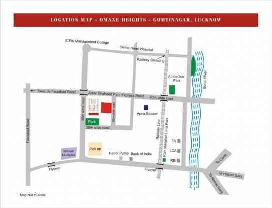 Omaxe Heights Location Plan