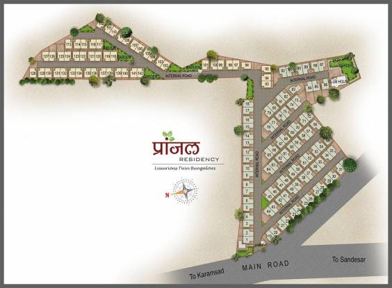 Raghukul Pranjal Residency Layout Plan