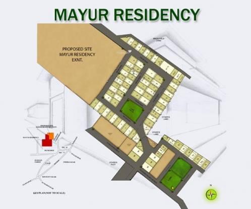 Manas Mayur Residency Site Plan
