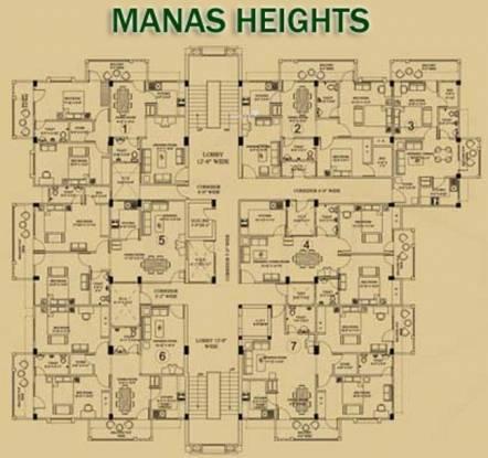 Manas Heights Cluster Plan