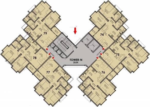 DivyaSree Republic Of Whitefield Cluster Plan