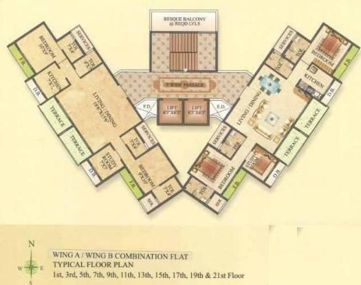 Newa Garden II Cluster Plan
