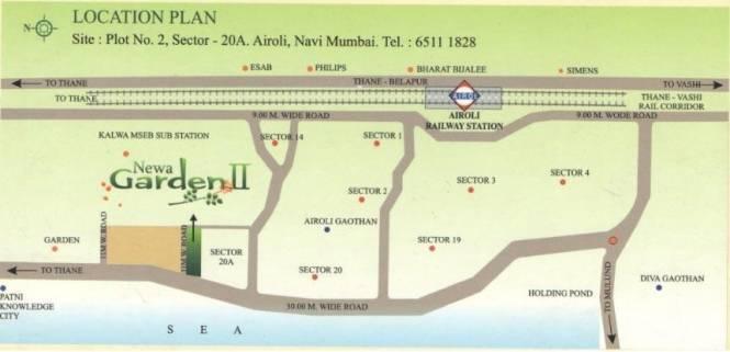 Newa Garden II Location Plan