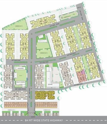 Applewoods Satyesh Residency Layout Plan