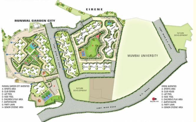 Runwal Eirene Master Plan