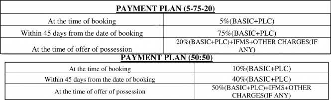 Panchsheel Greens 2 Payment Plan