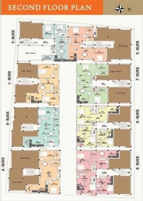Navganesh Elegance Cluster Plan