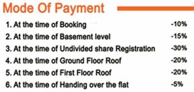 Navganesh Elegance Payment Plan