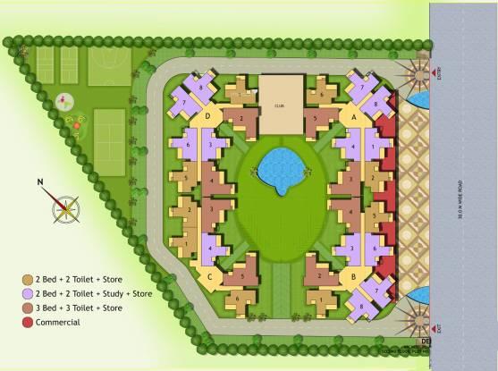 NewTech La Palacia Layout Plan