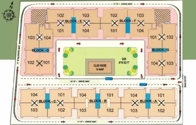 Shriram Sankari Site Plan