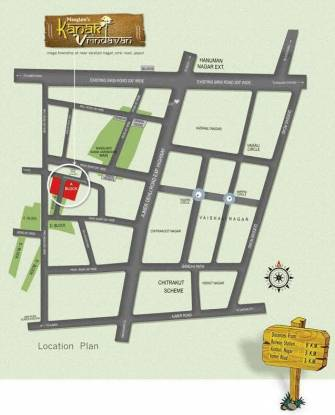 Manglam Kanak Vrindavan Location Plan