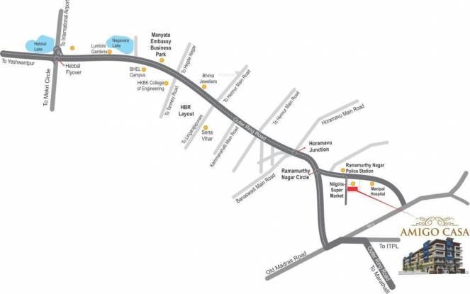 Amigo Casa Location Plan