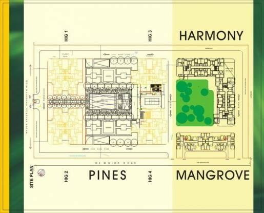 Shrachi Greenwood Sonata Site Plan