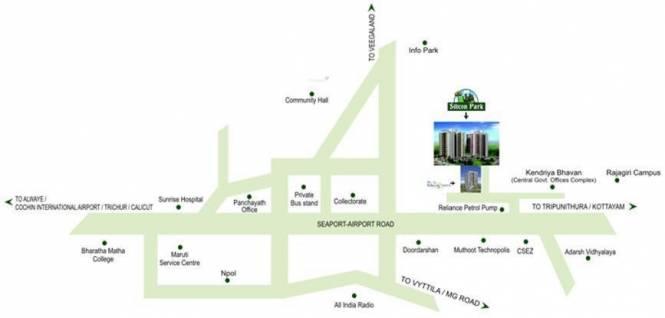 SFS Silicon Park Location Plan