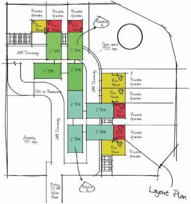 Pinnacle Cottage Close Villa Layout Plan