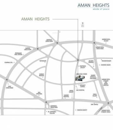 Plastene Aman Heights Location Plan