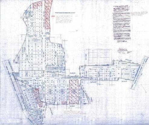 Green City Gachibowli County PhaseVII Site Plan