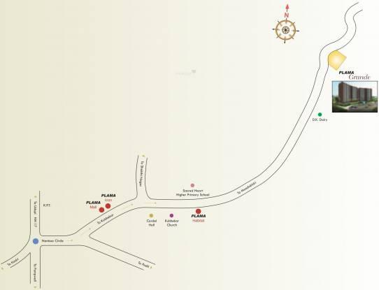 Plama Grande Location Plan