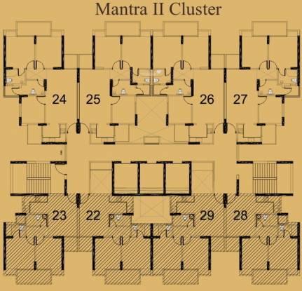 Mahagun Mantra 2 Cluster Plan