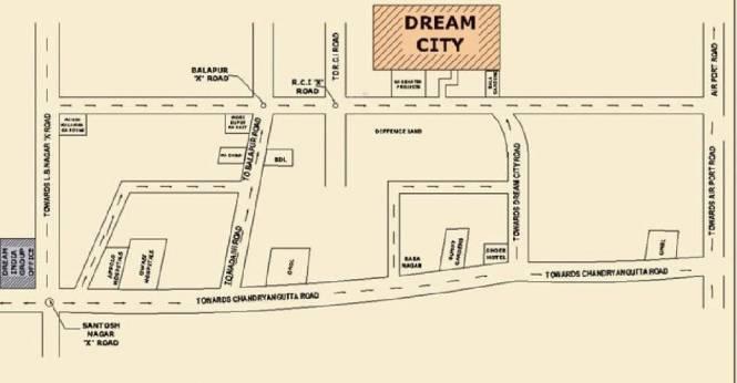Dream Dream City Location Plan
