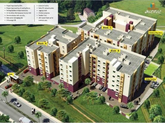 Decor Mahadev Avenue Site Plan