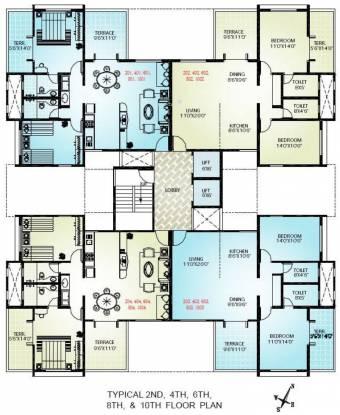 Sudhir Mandke Advantage Homes Cluster Plan