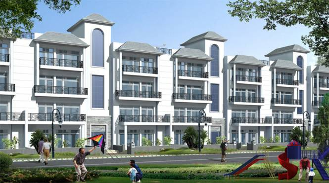 Images for Elevation of Omaxe Royal View Premier