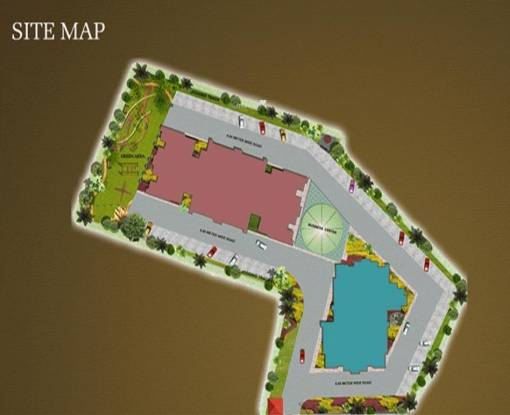 V3s Indralok Site Plan