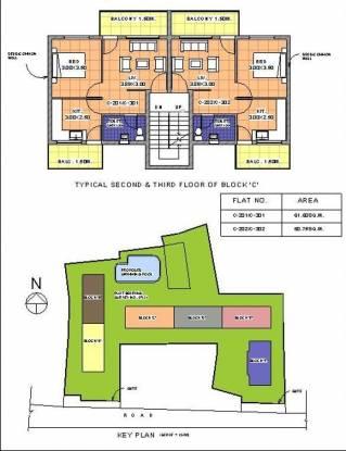 Chamunda Pamela Palms Cluster Plan