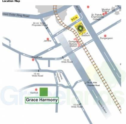 Gracelands Harmony Location Plan