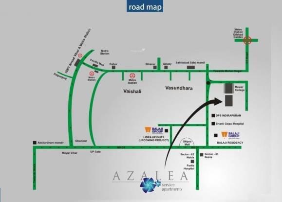 Balaji Kingston Palace Location Plan