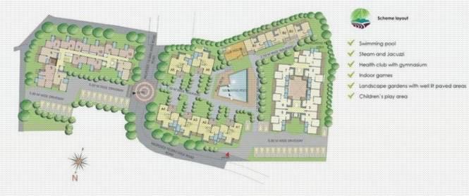 Heritage Exotica Site Plan