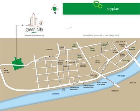 Green City Location Plan
