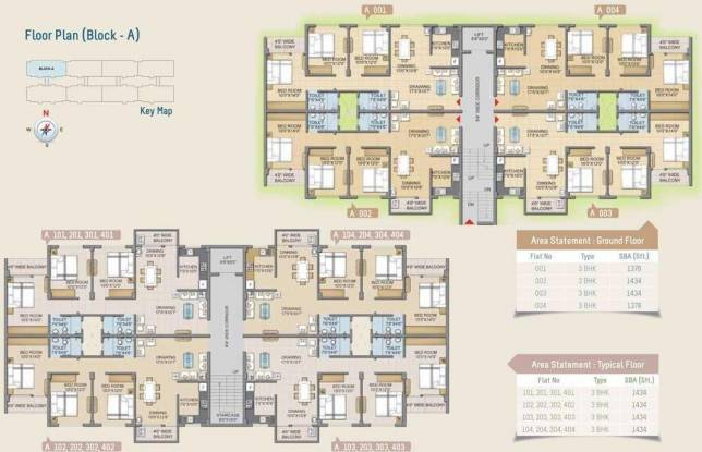 Lifestyle Lifestyle Orchid Cluster Plan