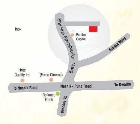 Rajmudra Classic Location Plan