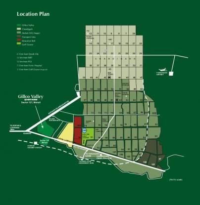 Gillco Towers Location Plan