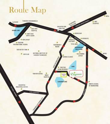 Zonasha Elegance Location Plan
