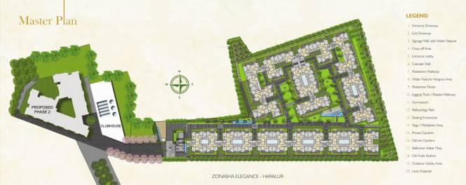 Zonasha Elegance Master Plan