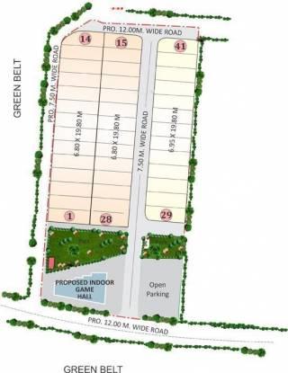 Geet Greens Layout Plan