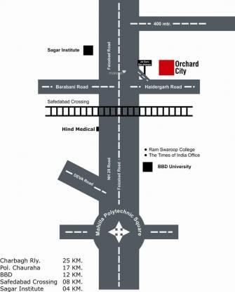 Paraiso Orchard City Location Plan